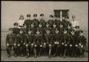 Am 28.09.1958 wurde das Neue Spritzenhaus an die Mitglieder der Freiwilligen Feuerwehr in feierlicher Form übergeben.