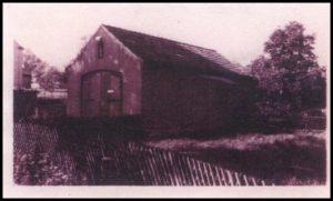 Das alte Spritzenhaus der Freiwilligen Feuerwehr Beutha. Im Spritzenhaus war eine Pferdgezogene Handdruckspritze sowie Hakenleitern und Laternen untergestellt.